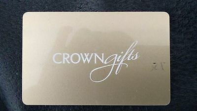 $750 crown casino gift card