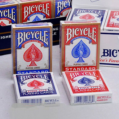 Sealed Package Deck of Bicycle Standard Face Poker Playing Cards Red
