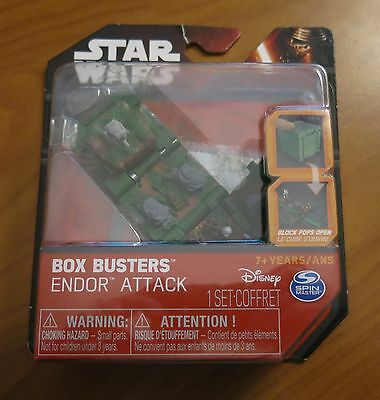 Star Wars Box Busters Endor Attach NEW SEALED Galactic Empire Outpost
