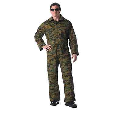 Camouflage Coveralls Woodlands USMC W/ PERMETHRIN Mens Size XL