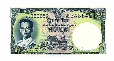 Thailand ... P-74d ... 1 Baht ... ND(1955) ... *UNC* ... Sign 40