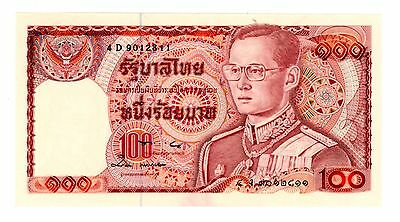 Thailand ... P-89 ... 100 Baht ... ND(1978) ... *UNC* ... Sign 57