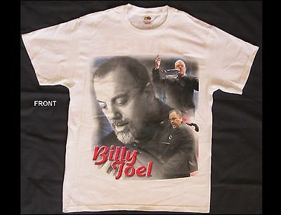 BILLY JOEL My Lives 2006 Adult Size Medium White T-Shirt