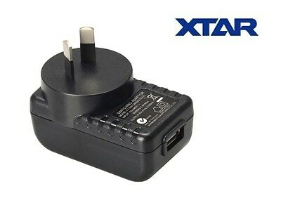 New XTAR USB Power Port 2100mA 2.1A AU Plug Wall Adapter Charger (VC2 Plus, VC4)