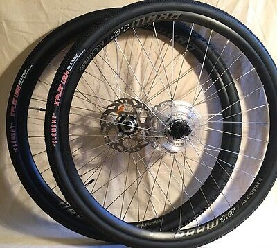 Shimano RS505 / Alexrims Draw 1.9s DISC Cyclocross Road Gravel CX wheel set