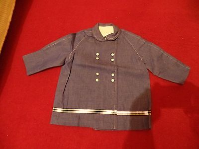 Gorgeous Original Deadstock 1940s/50s Toddlers Coat