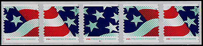 USA PNC5 Sc. 4961-3 (10¢) Stars & Stripes 2015 MNH