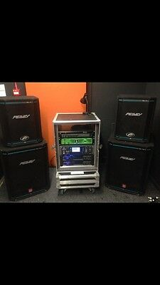 peavey PA +amps The Ampeg, Porter And Davies And X32 Are NOT For Sale