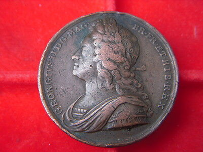A Very Rare 1727 George 11 Coronation Medal From My Collection [B66]