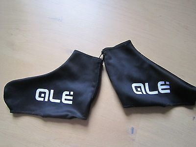 Ale Windtex Cycling Overshoes- Black/ White - Large 42-44