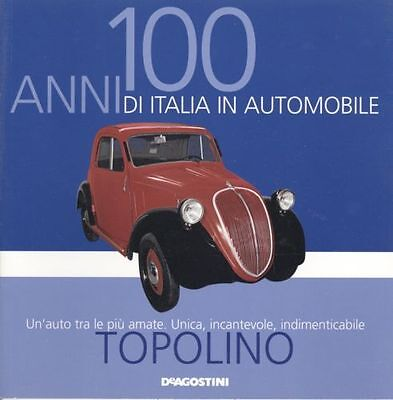 Booklet FIAT TOPOLINO 500A rare 30 PAGES
