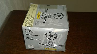 Unopened Panini UEFA Champions League 1999/00 Box - Excellent Condition
