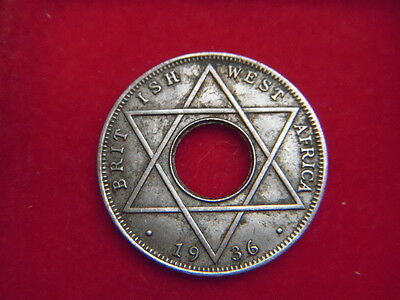 A Scarce 1936  Edward V111 One Tenth Of A Penny  From British West Africa
