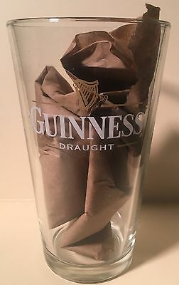 16oz Guinness Draught Beer Pint Glass