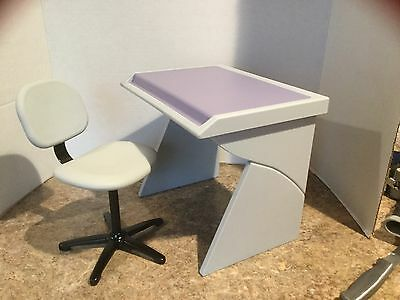 American Girl Doll Computer Desk And Chair