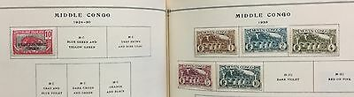 Middle Congo 1924/33 Lot Of 6 Stamps Mlh* Spl