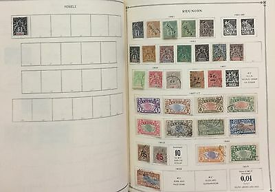 Reunion Moheli 1891/922 Lot Of 31 Stamps Mlh* & Used Spl