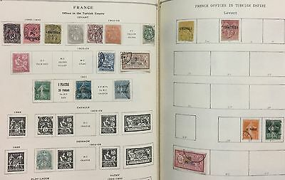 French Offices In Turkish Empire Levant Lot Of 19 Stamps Mlh* & Used Spl