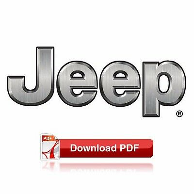 1997-1998 Jeep Grand Cherokee (ZJ & ZG) Factory Shop Maintenance & Repair Manual