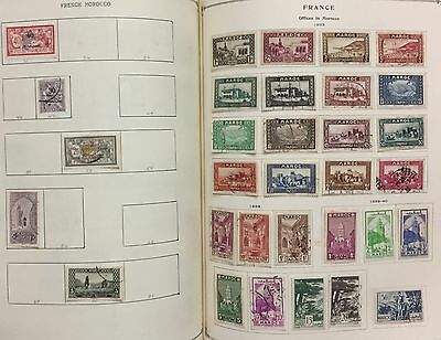 French Offices In Morocco 1891/940 Lot Of 32 Stamps Mlh* & Used Spl