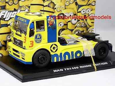 FLY F203109 MAN TR1400 Racing Truck - Minions Special Edition - New & Boxed