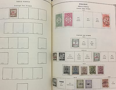 French Offices In Morocco Air Post 1917/926 Lot Of 16 Stamps Mlh* & Used Spl