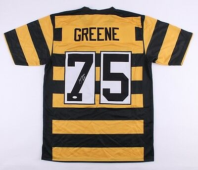 c9840e6415c Joe Greene Signed Steelers Jersey Inscribed