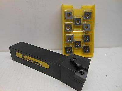 Brand new Kennametal DCLNL-164C Lathe Toolholder With 10 New Inserts CNMA