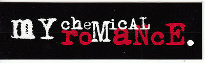 My Chemical Romance I Brought You My Bullets... RARE promo sticker '03