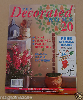 The Decorated Home Part 20 including Christmas stencil