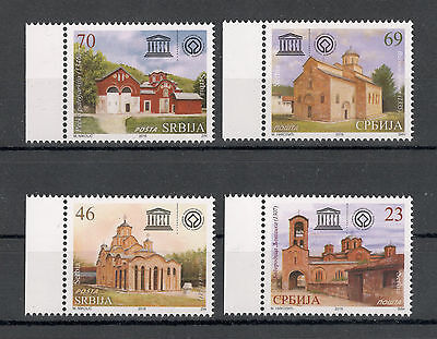 SERBIA-KOSOVO-SET-SERBIAN MONASTERIES LISTED AS CULTURAL HERITAGE by UNESCO-2016