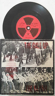 THE CLASH - SINGLE - The call up / Stop the world