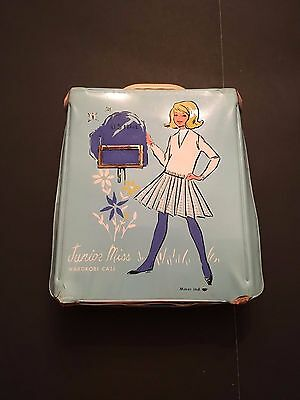 "Vintage 1960's ""Junior Miss Wardrobe Case"""
