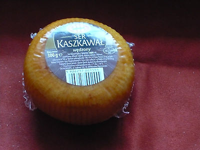 Kashkaval Kaszkawal  Smoked cheese specialties  from Poland 300 g. / 10oz.