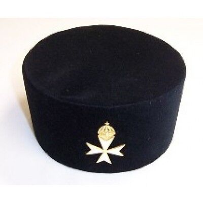 Knights  of Malta caps with badges