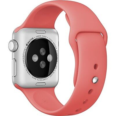 Genuine Apple Sport Band for Apple Watch 38mm Pink MJ4K2ZM/A