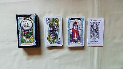 Tarot Of A Moon Gardens Cards And Booklet