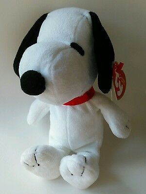 Snoopy TY Beanie Baby Soft Toy Original Beanies Babies 2010