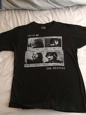The Beatles 'Let It Be' T-Shirt Large