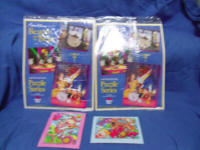 4 Pizza Hut Puzzles: 2 Sealed Beauty, 2 small, unsealed.