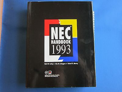 The National Electrical Code Handbook 1993 Hardcover