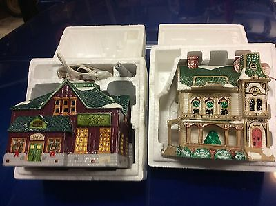 2 new 56 Department The original snow village Factory 5013-0 Ramsey hill 5067-9