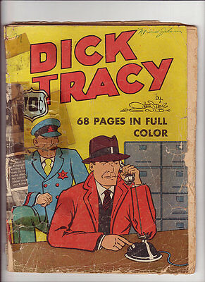 Dick Tracy Feature Comic #6 Poor 1937 has 60 pgs Rare