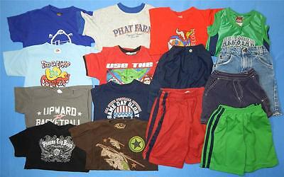 15pc Lot Boys Spring Summer Clothing Size 5 Place Barron Anvil Arizona & More!