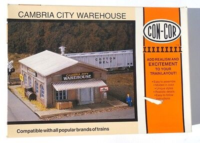 Con-Cor Cambria City Warehouse KIT - N Scale