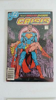 Crisis On Infinite Earths #7 Fn+/vf Death Of Supergirl George Perez