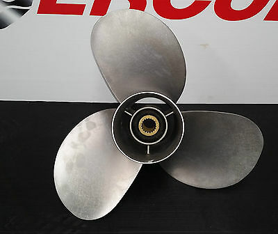 Mercruiser Bravo Two 19 1/2 x 13 3RH Stainless Steel propeller stearndrive