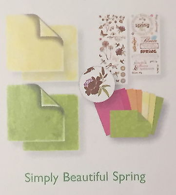 Spring Simply Beautiful Paper & Sticker Pack