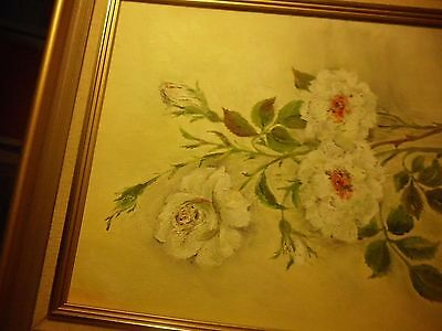 Oil Painting With Flowers