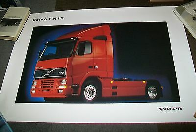 Volvo Fh12 Tractor Unit Truck Poster. Official Issue 40010189